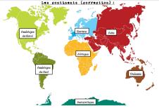 continents_carte